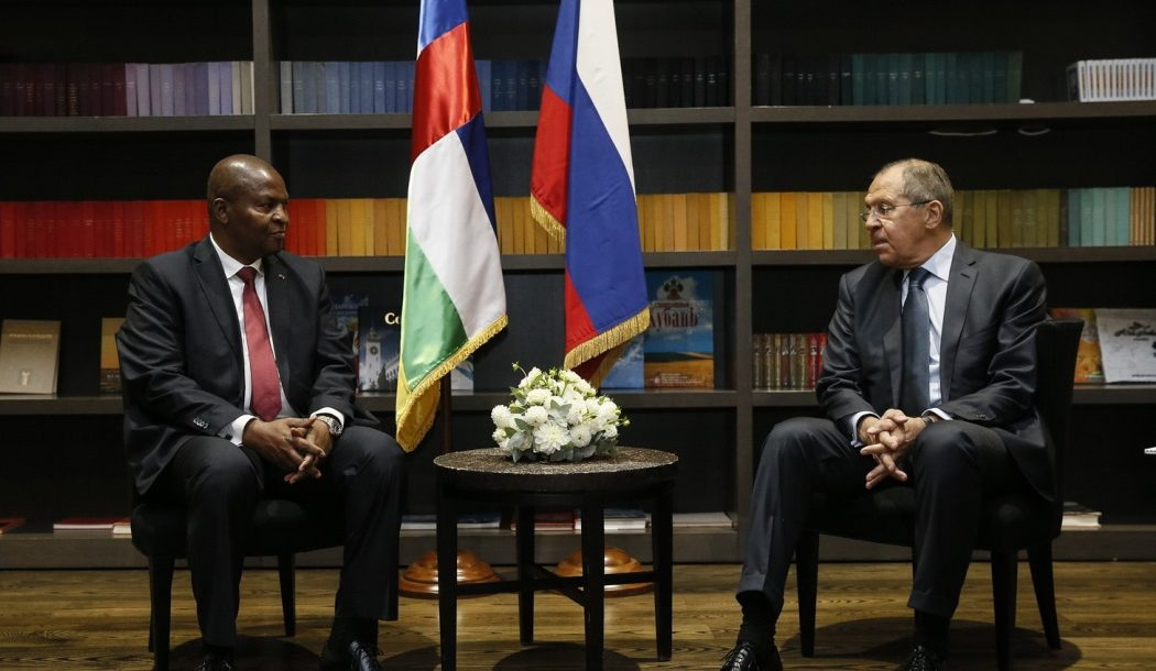 Russia signs military cooperation pact with Central African Republic